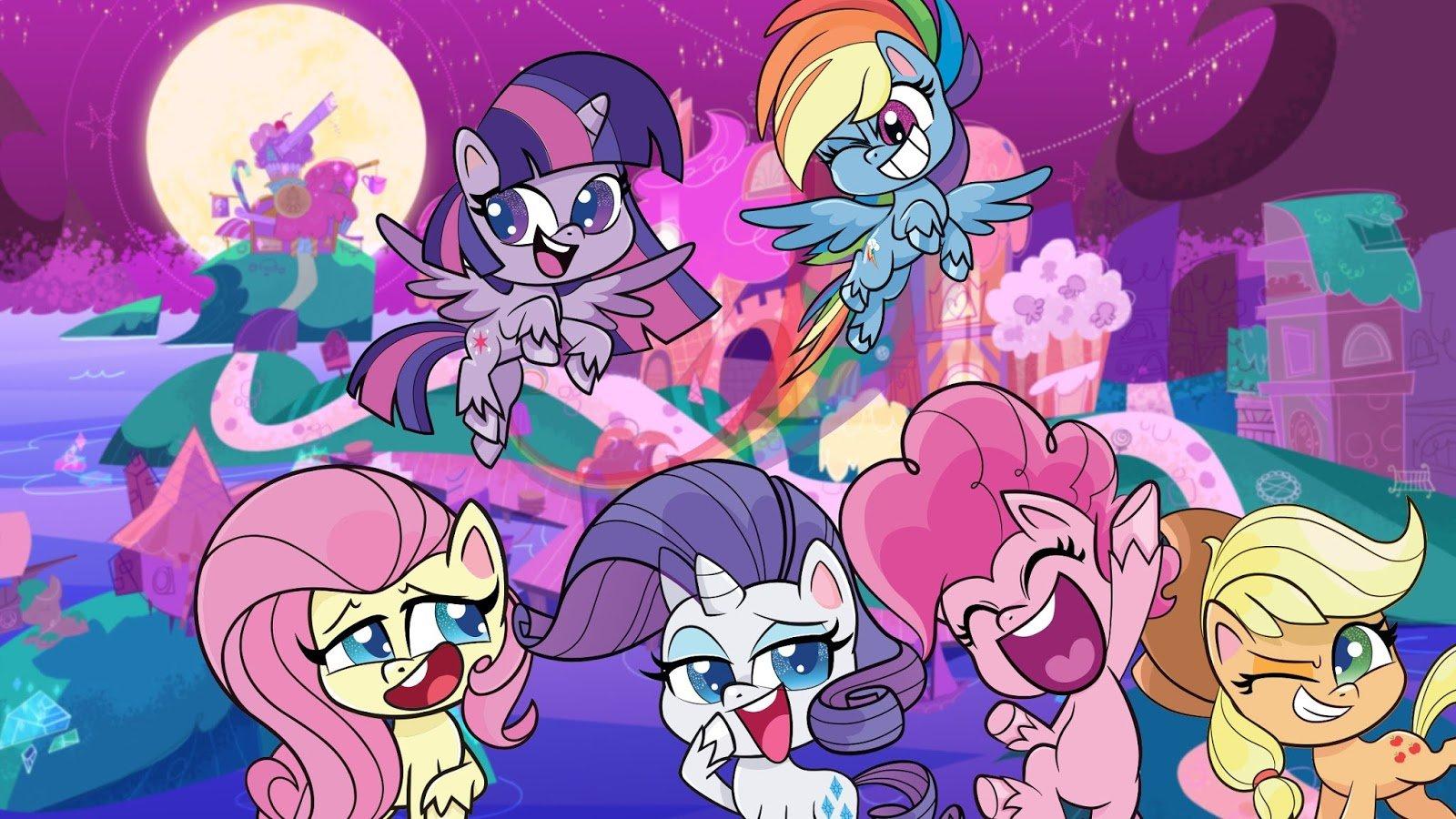 Аниме Пони Лайф / My Little Pony: Pony Life смотреть онлайн